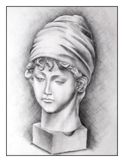 Pencil sketch of a Woman by sweetcivic