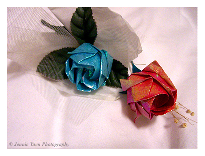 Origami Roses by sweetcivic