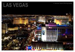 Las Vegas Strip at Night by sweetcivic
