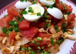 Tomato Egg on Rice