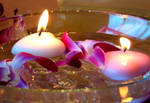Floating Heart Candles