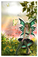 Spring Time Faerie by sweetcivic