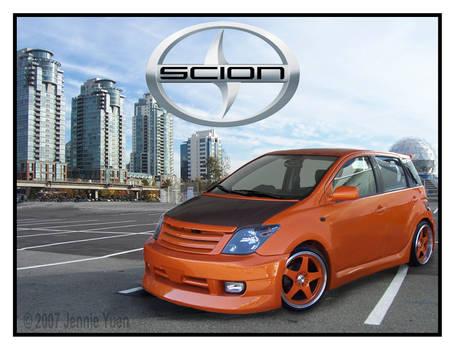 Skin a Scion: Orange Scion xA