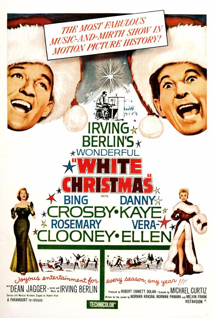 white christmas movie lyrics