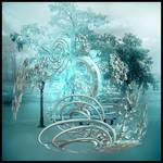 Ice blue fragility
