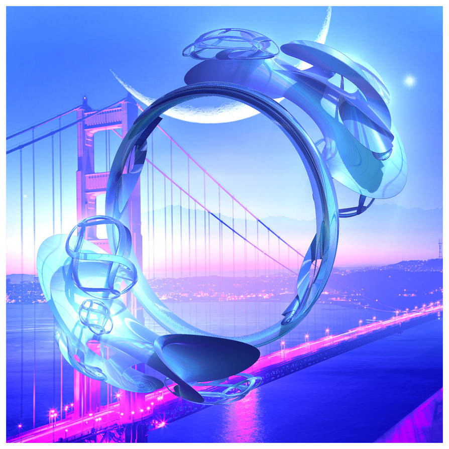 The Orb And The Bridge by blingblingbabe