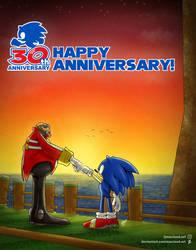 Sonic the Hedgehog - Happy 30th Anniversary!