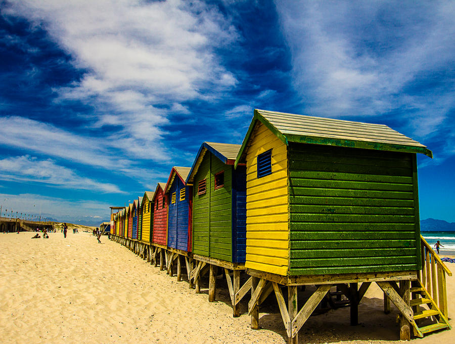 Muizenberg houses by icmb94