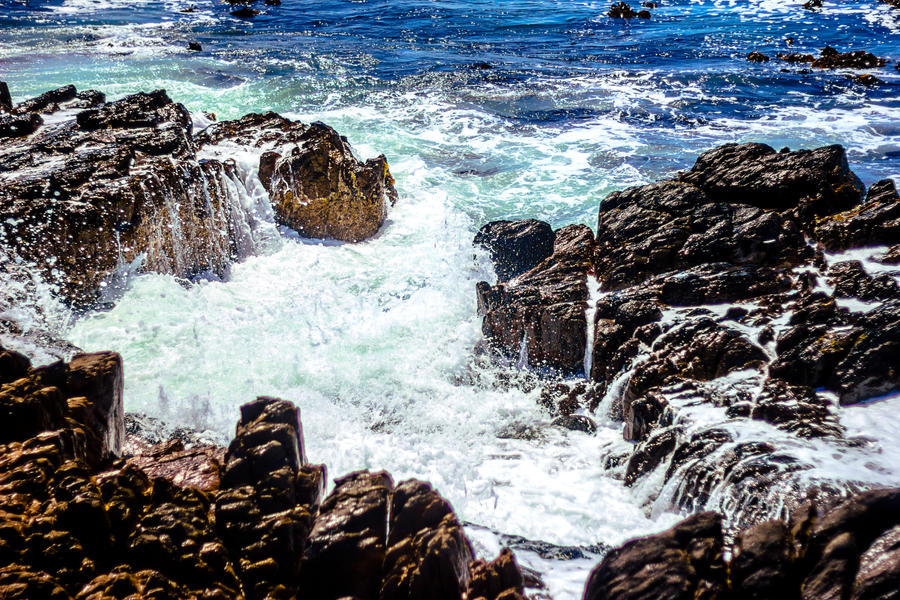 Robben island waves by icmb94
