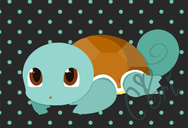 Squirtle by Burashi