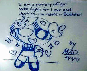 Bubbles, fighter of Love and Justice by Mao2018
