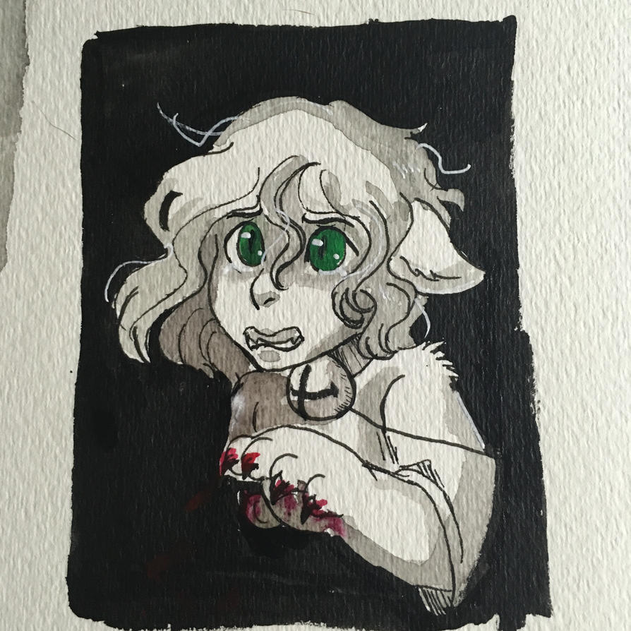 Inktober Day 5 by Breathe-a-little