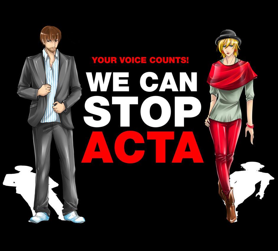 STOP ACTA by Yokufo