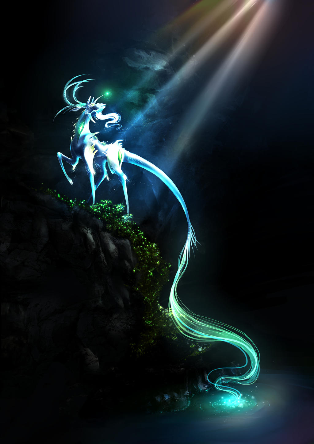 Qilin - PD Contest - Breath of life by Yokufo
