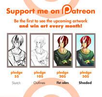 Patreon Pledge by Yokufo