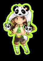 Gift - Panda by Yokufo