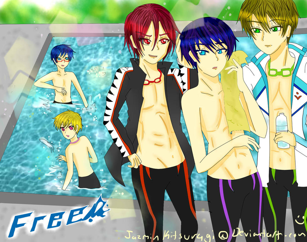 FREE! Iwatobi Swim Club by JazminKitsuragi