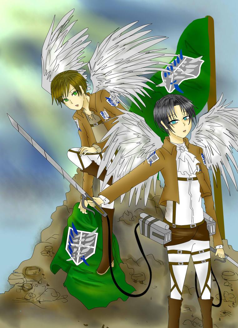 Wings Of Freedom by JazminKitsuragi