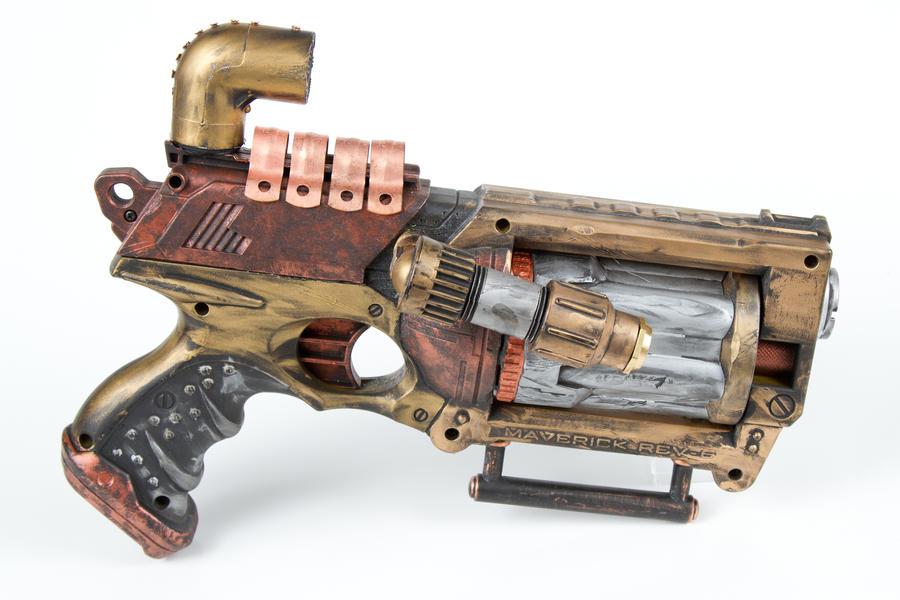 Steampunk nerf gun #2 by 3Dpoke