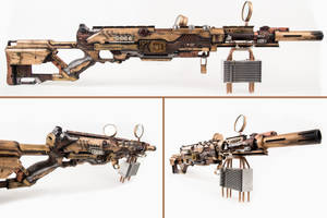 Steampunk longstrike by 3Dpoke
