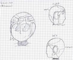 Sabine.EXE 3.0 (helmet design) by MafiPaint