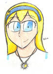 Skyla (head shot practise drawing) by MafiPaint