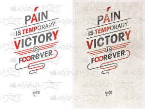 Pain or Victory