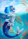 Sea Fairy by Blooming-Lynx