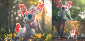 Handmade Sylveon Toy [For Sale]