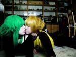 Gumi x Len - Kiss