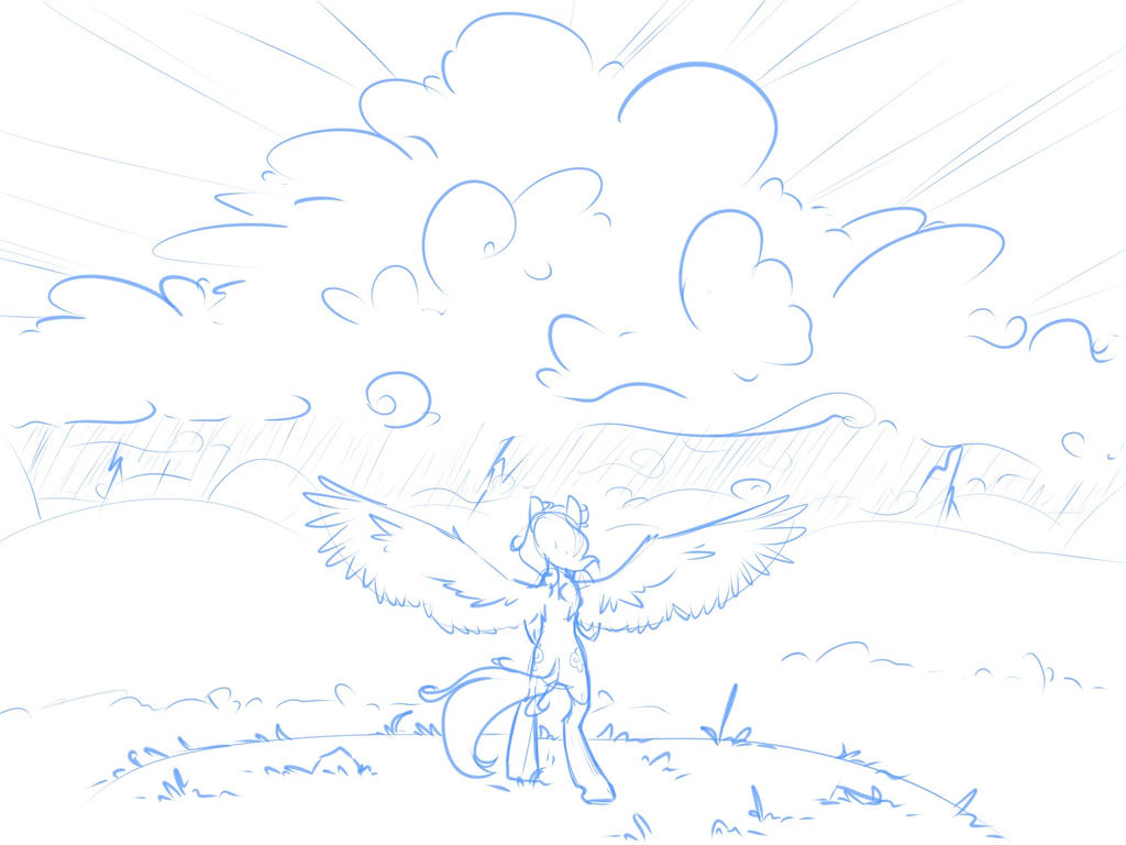 Sketch 9-22 Challenge the Storm by Geomancing