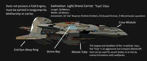 2nd Generation Meta-Sax Drone Carrier