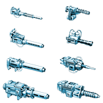 Battletech Mech Scale Weapons