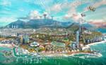 Solarpunk Scenario 2 Capetown