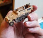 Paper Model German Halftrack