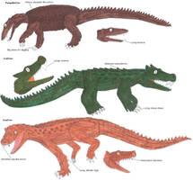 The Mammal-like Crocs by Coelotitan