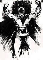 Batman strikes by JohnyBlazzze