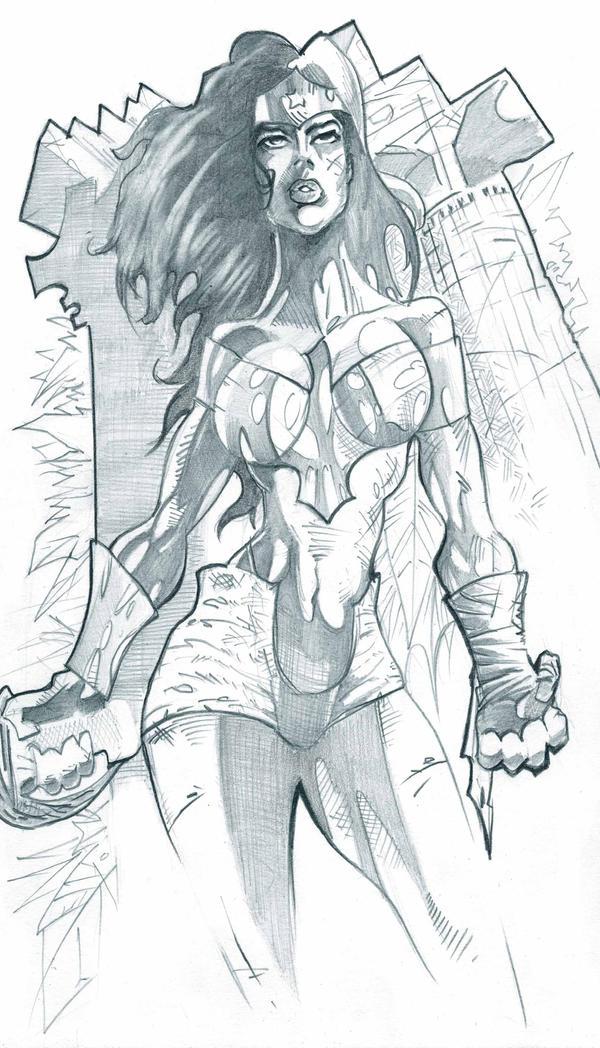 Wonder Woman by JohnyBlazzze
