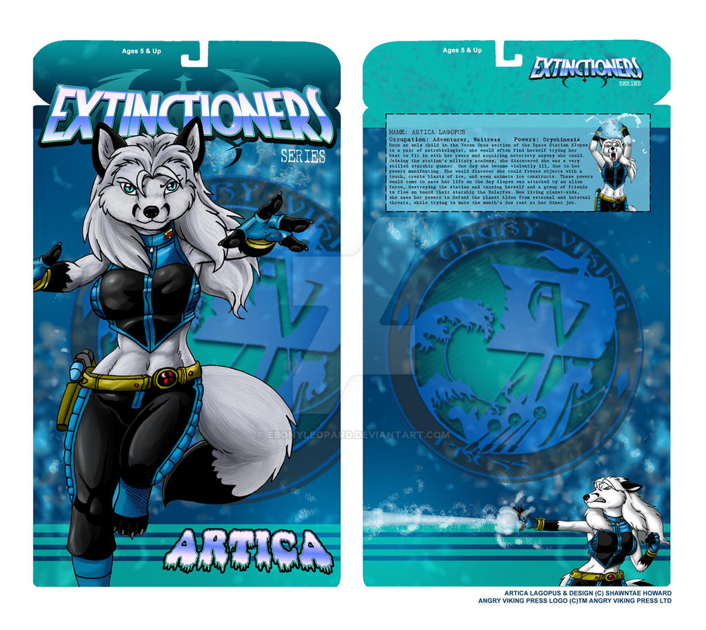 ebonyleopard 168 15 artica action figure box design by ebonyleopard - Artica Designs
