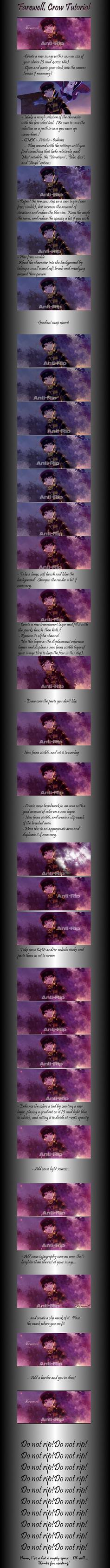 Farewell, Crow Tutorial by Ririshii