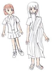 Apprentice and Narrator by TomoyoIchijouji