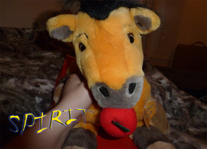 SPIRIT rare plush will be soon for sale or trade by xoxoxivoryxoxox