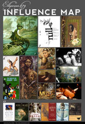 Elly's Influence Map 2010 by Ellyevans679