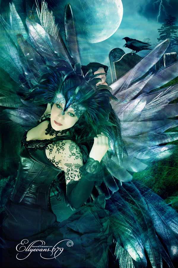Totem Spirit-Raven by Ellyevans679