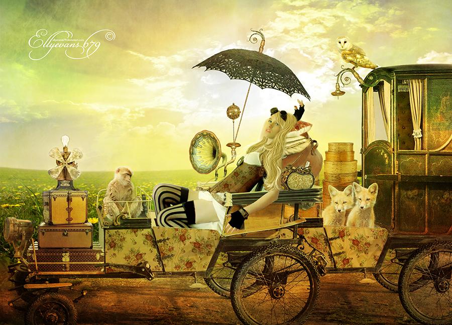 Steampunk Gypsy Traveller by Ellyevans679