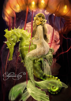 Mermaid Carousel - Colour Version