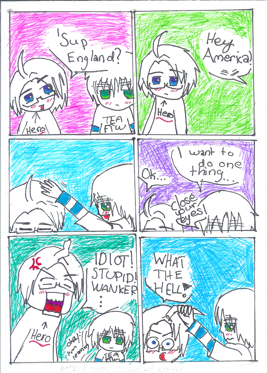 """APH: America's """"curl"""" by TinoV on DeviantArt"""