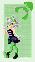 Squid Sisters: Marie by LunarHalo24