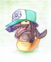 New Hat by LunarHalo24