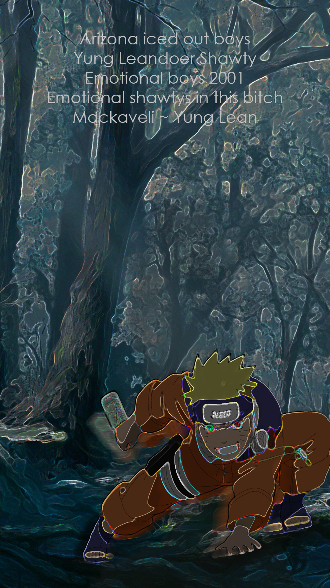 Popular Wallpaper Naruto Emotional - naruto__sbe___yung_lean_by_xtrayzer-da78wy3  Perfect Image Reference_705370.png